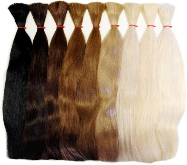 палитра волос для наращивания