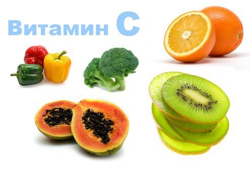 Какое действие на кожу оказывает витамин с