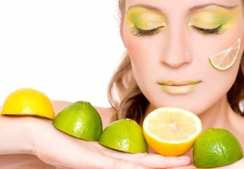 отбеливание лица с лимоном рецепт