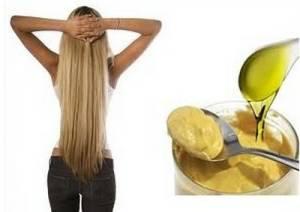 маска для волос горчица желток