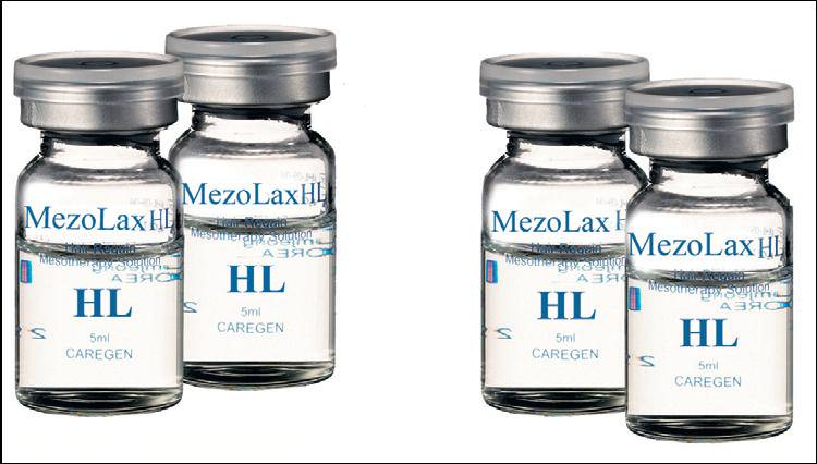 коктейль для мезотерапии MeZolax: HL Anti-hair Loss
