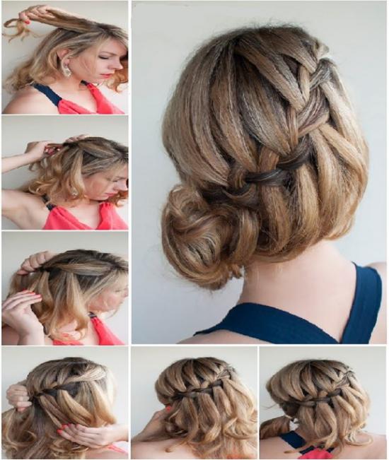 Плетение кос Пошаговое фото и инструкция для начинающих 71
