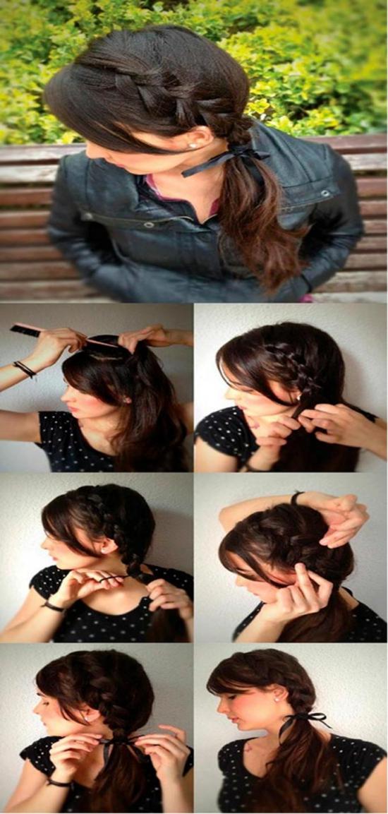 Видео французская коса наоборот пошаговая инструкция