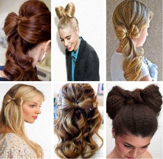 причёски бантики из волос пошаговая инструкция - фото 4