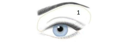 фото макияжа для голубых глаз