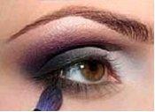 поэтапный макияж для карих глаз