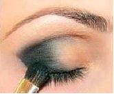 сделать макияж для карих глаз
