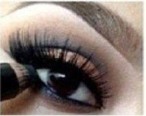 Красивый макияж для карих