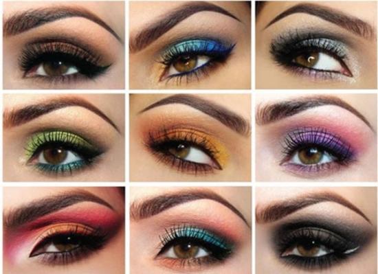 Скромный макияж для карих глаз 13