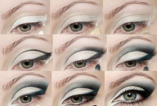 Идеи и варианты дневного макияжа для зелёных глаз с пошаговым