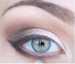 Макияж для серых глаз пошагово фото