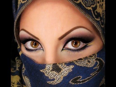 макияж в арабском стиле