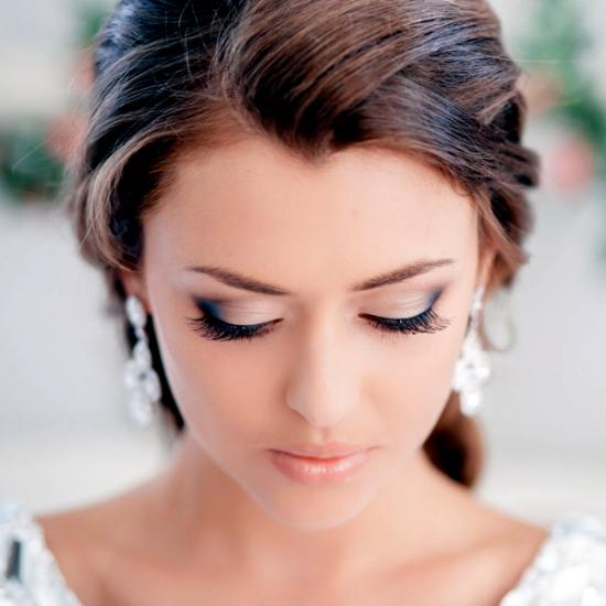 Свадебный макияж шатенок