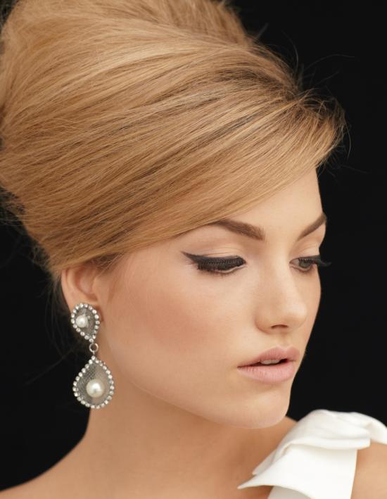 Свадебный макияж Кошачий взгляд