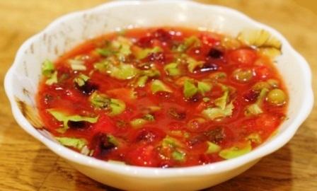 томатная окрошка рецепт с фото