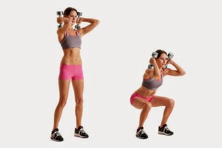 Упражнения для мышц рук для женщин с гантелями