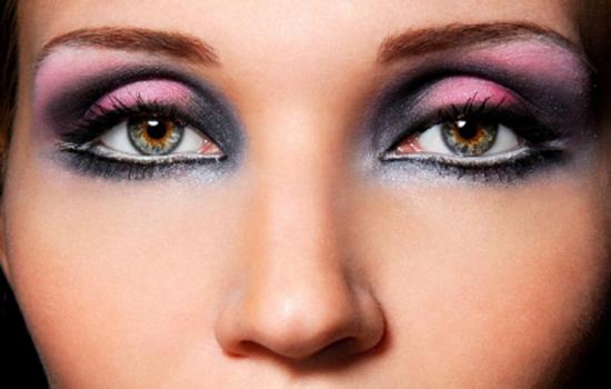 Макияж для каре-зелёных глаз