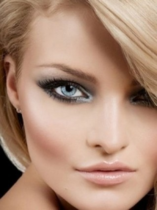 Лёгкий макияж для зелёных глаз