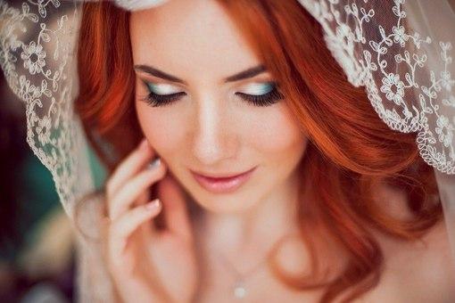 Свадебный макияж для рыжих