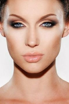 фото макияж для впалых глаз