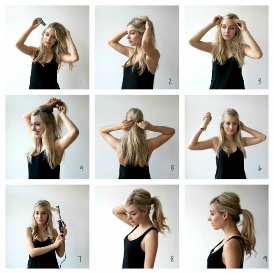 Вечерние Прически На Длинные Волосы Своими Руками Пошаговая Инструкция Фото - фото 9