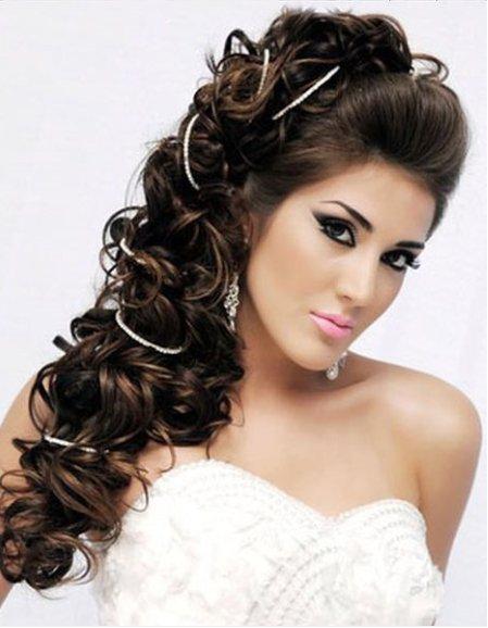 Прическа на длинные волосы в греческом стиле