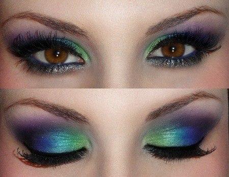макияжа глаз необязательно