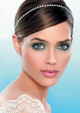макияж глаз для шатенок фото с