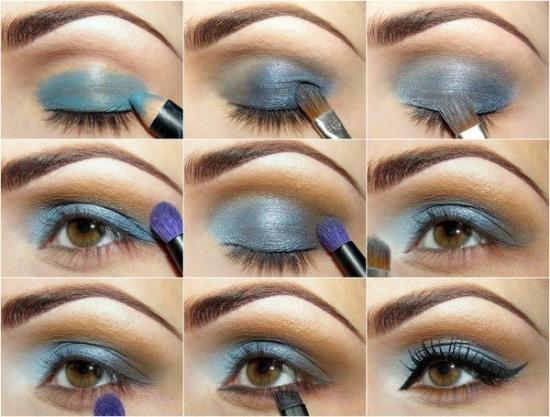 Схемы техник в макияже
