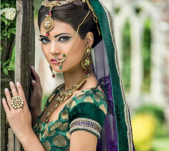 индийский макияж видео