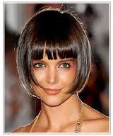 Причёски на короткие волосы с чёлкой