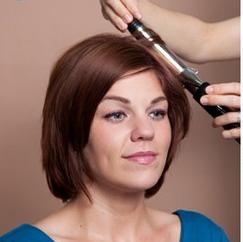 Причёска на каре с чёлкой в домашних условиях фото