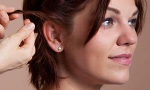 Греческая причёска на короткие волосы