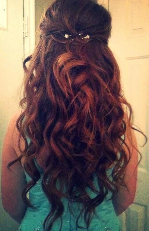 Косы и распущенные волосы