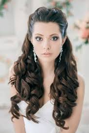 Длинные волосы: свадебные причёски