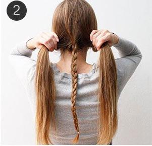 Необычная коса пошагово