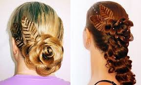 Прически из гофрированных волос