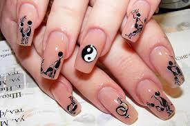 Стэмпинг на ногтях