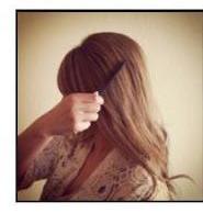 Причёска на средние волосы