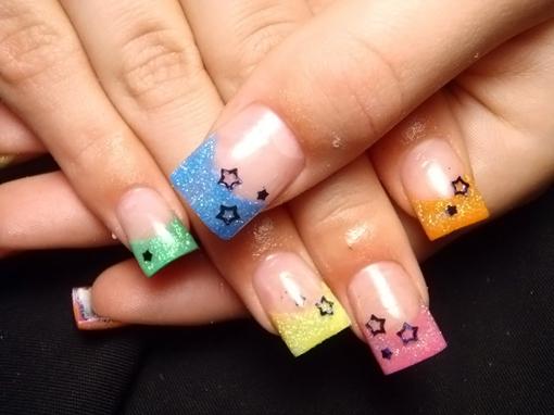 Дизайн ногтей: френч