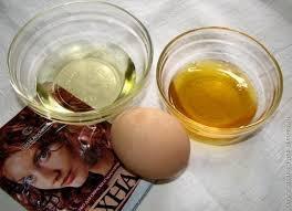 Маска для волос желток хна кефир