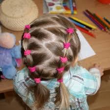 Детские прически простые на короткие волосы