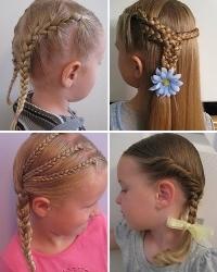 Простые причёски: фото