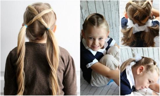 Причёски на 10 лет