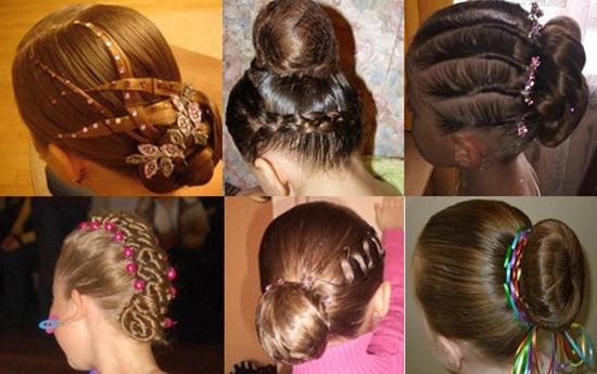 Причёски для бальных танцев
