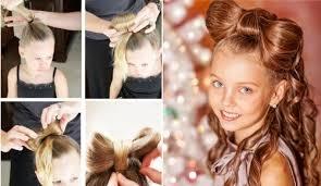 Причёска на Новый год
