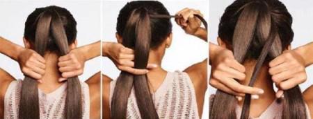 Лёгкие причёски пошагово