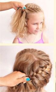 Причёска на короткие волосы
