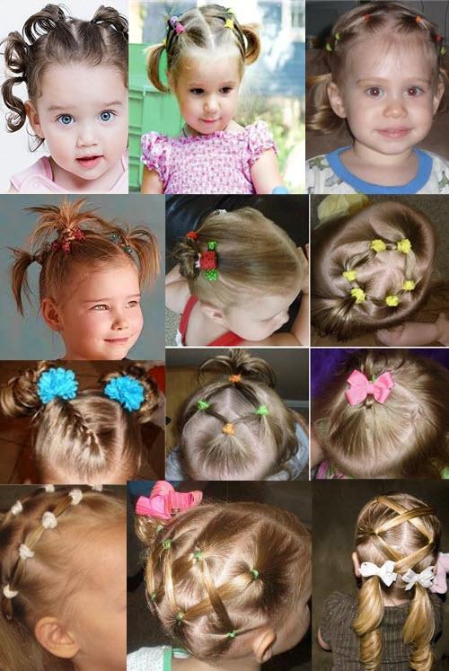 Прически на короткие волосы фото на каждый день для девочек