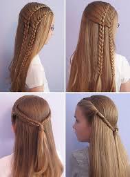 Причёски на для девочек фото 13 лет